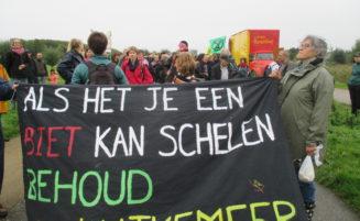 Gem belooft geen verdere werkzaamheden in de polder